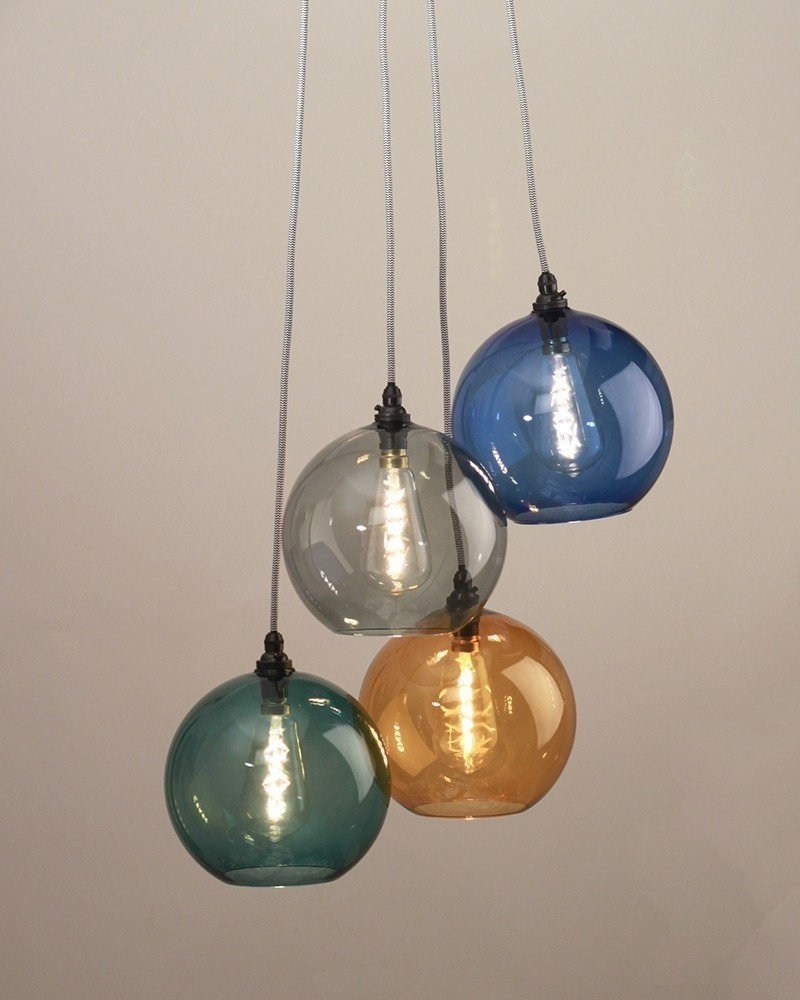 Coloured Glass Chandelier For Famous Pendant Lights, Chandelier Lighting, Hereford Mixed Coloured Glass (View 5 of 20)