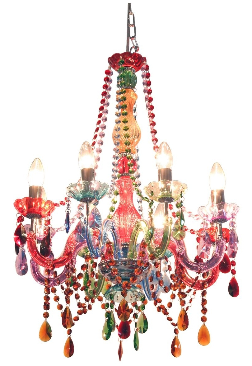 Colourful Chandeliers Inside 2018 Febland Festival Chandelier (View 9 of 20)