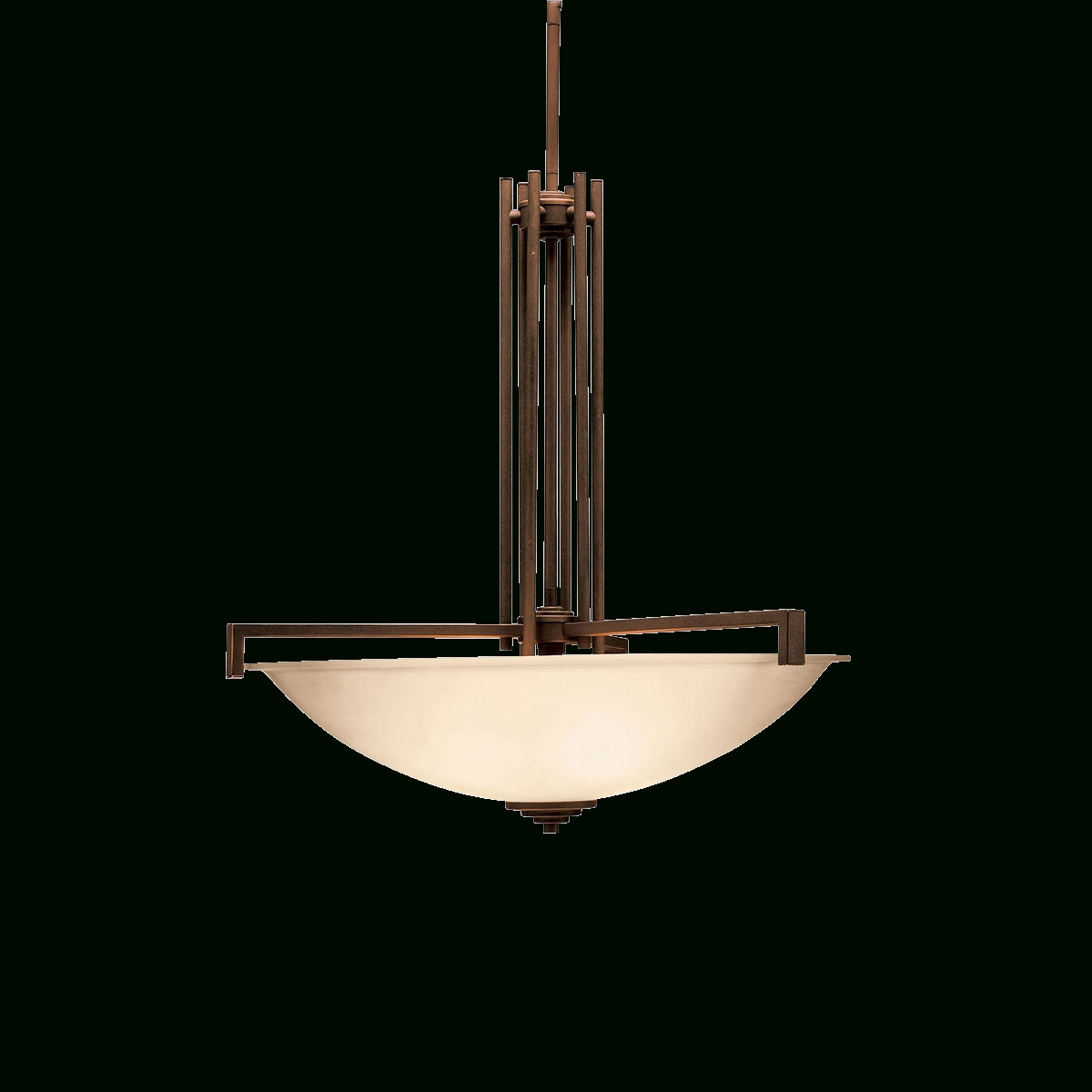 Contemporary 4 Light Inverted Pendant (3299ni) Brushed Nickel Pertaining To Most Recently Released Inverted Pendant Chandeliers (View 20 of 20)