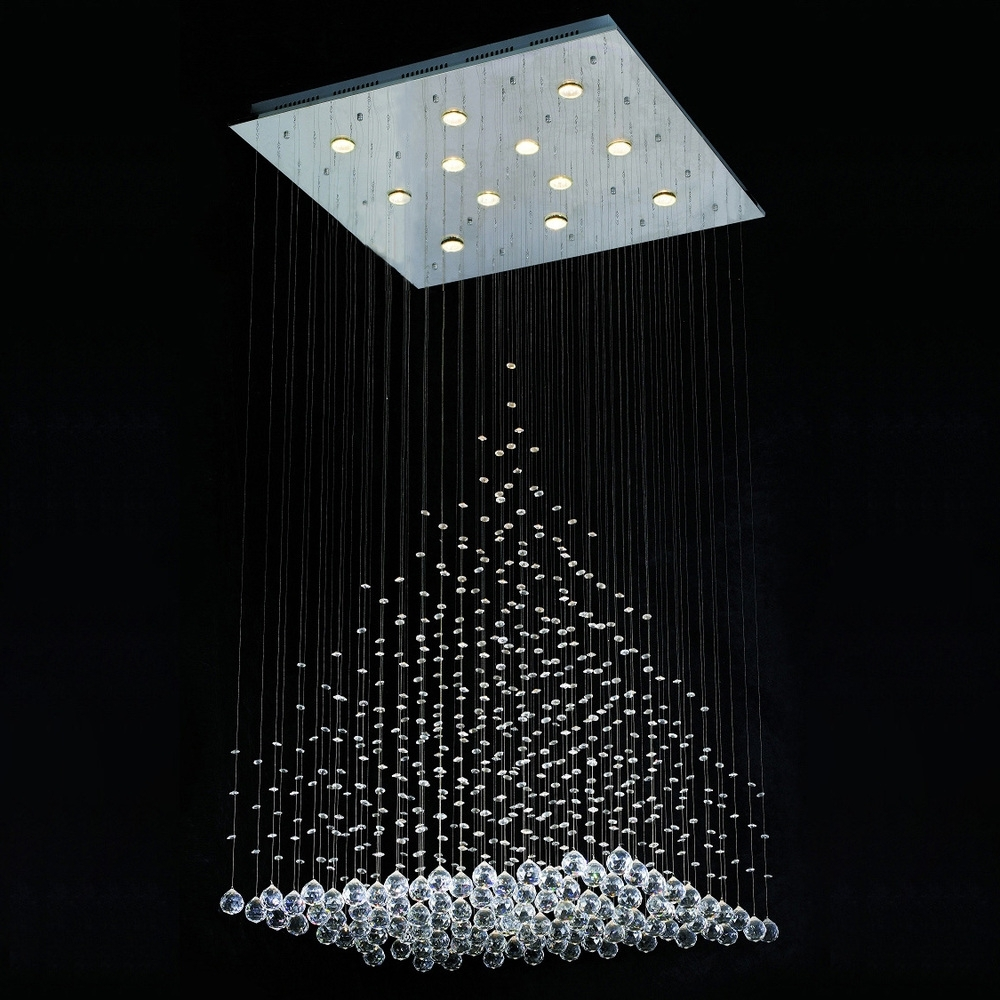 Contemporary Chandelier Lighting – Modern Lighting Chandeliers Regarding Most Recent Contemporary Modern Chandelier (View 14 of 20)