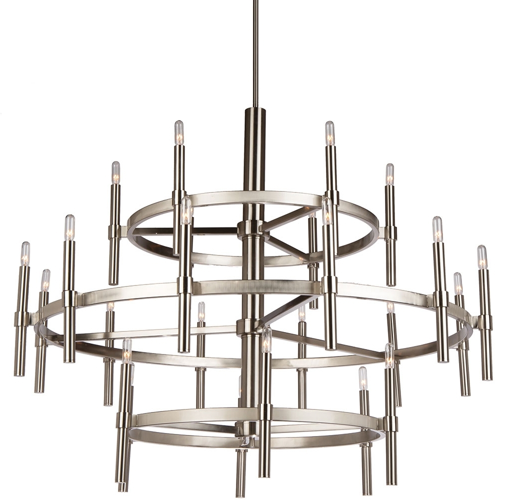 Contemporary Chandelier Pertaining To Current Artcraft Ac10664 Encore Contemporary Chandelier Light – Art Ac (View 4 of 20)
