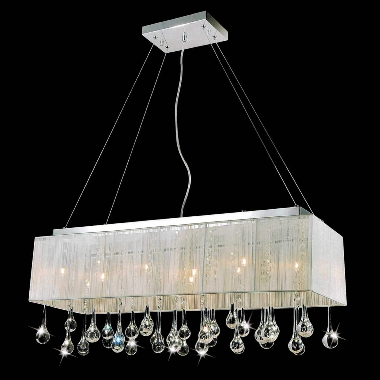 Contemporary Design Insight Throughout Modern Silver Chandelier (View 14 of 20)
