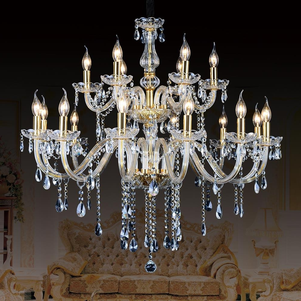 Contemporary Large Chandeliers For Newest Modern Ceiling Chandelier For Kitchen Large Contemporary Crystal (View 12 of 20)