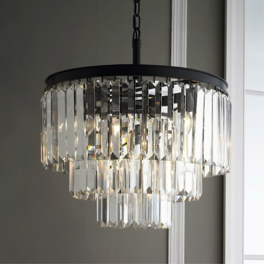Contemporary Modern Chandelier With Regard To 2018 Lighting : Designer Contemporary Chandeliers All Modern Lighting (View 4 of 20)