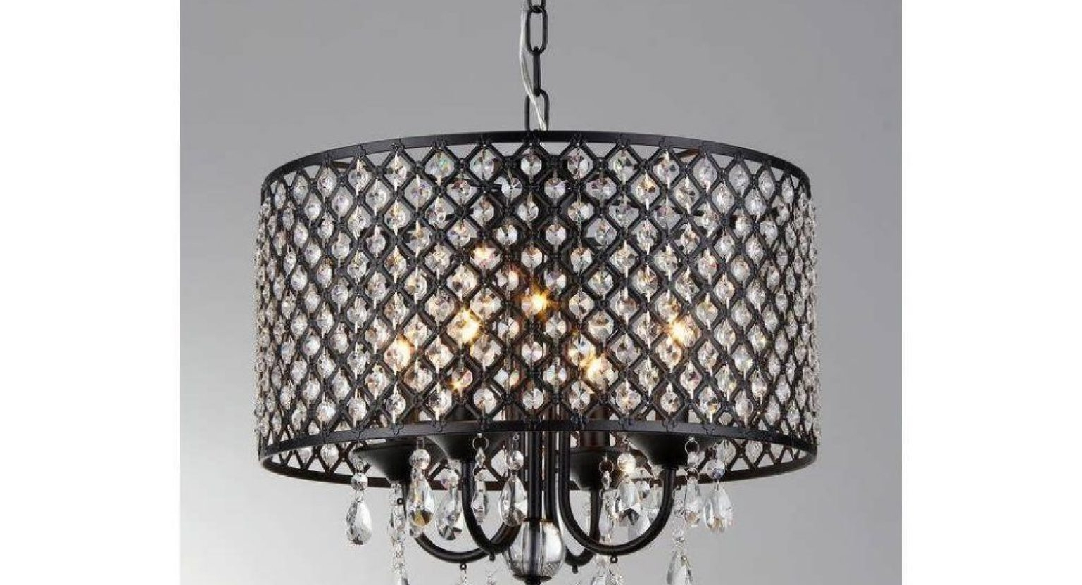 Cool Large Drum Shade Chandelier Tags : Clip On Drum Chandelier Intended For Most Recently Released Clip On Drum Chandelier Shades (View 11 of 20)
