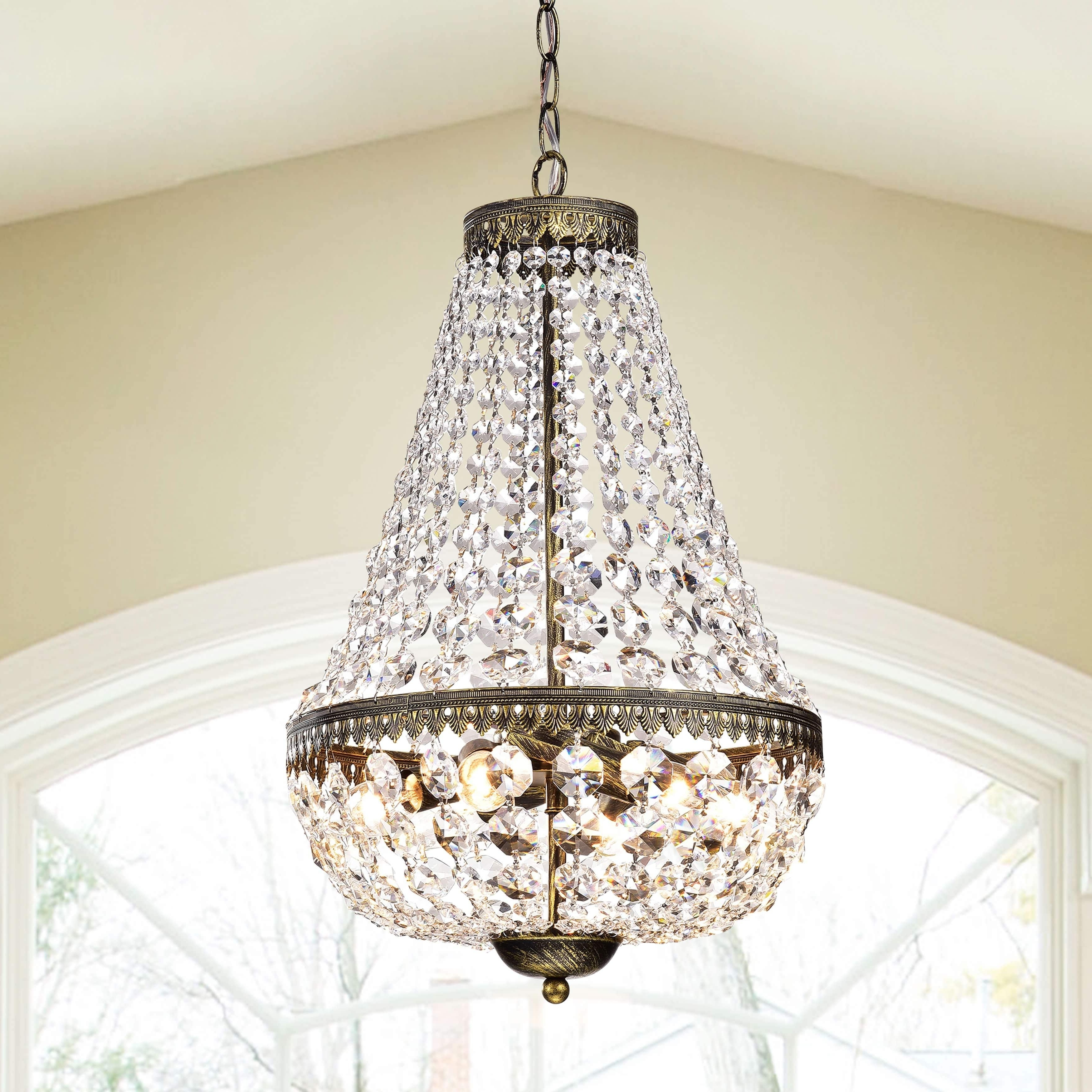 Copper Grove Sagano Symmetric 6 Light Antique Copper Chandelier Within Preferred Copper Chandeliers (View 7 of 20)