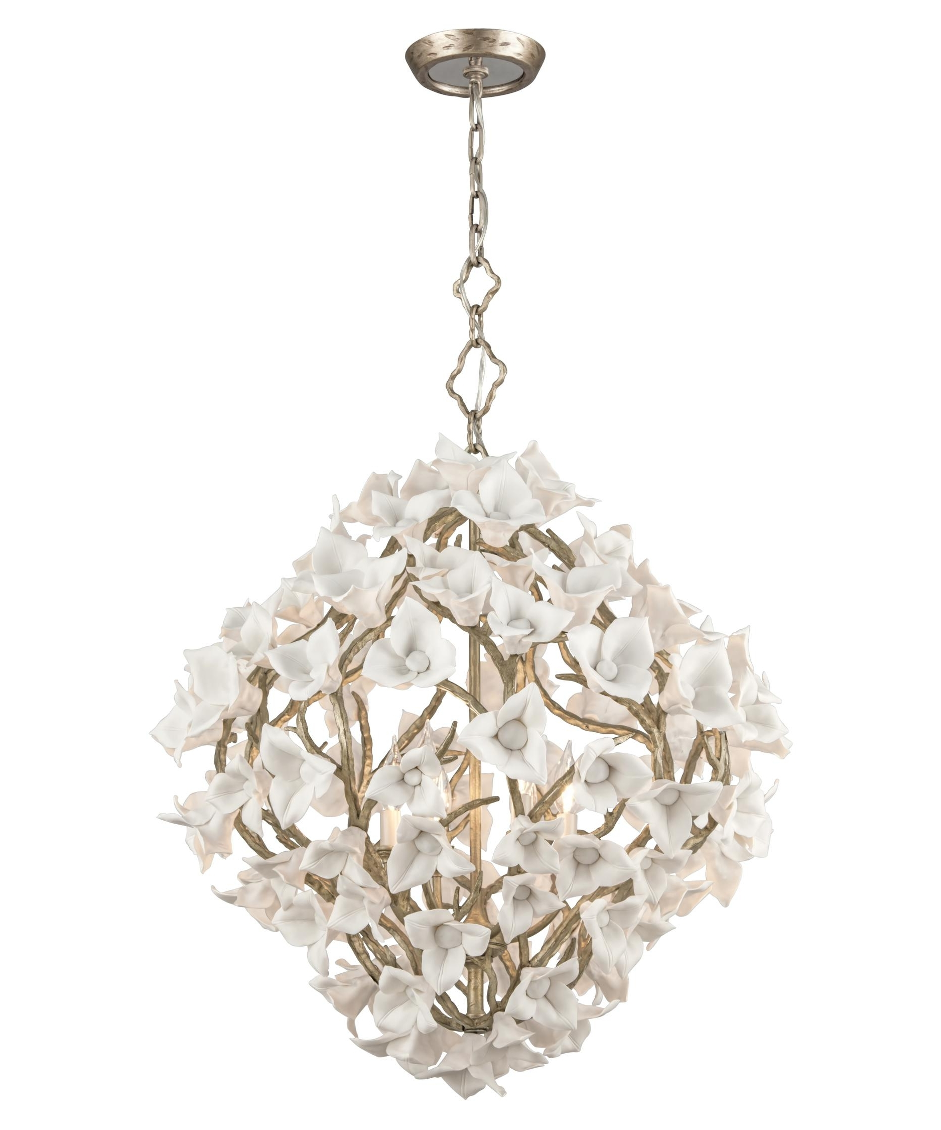 Corbett Lighting 211 46 Lily 26 Inch Wide 6 Light Large Pendant Intended For Preferred Lily Chandeliers (View 5 of 20)