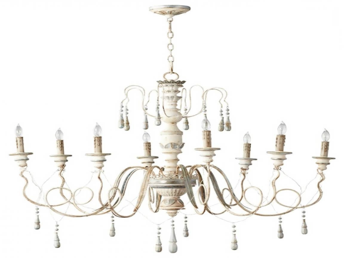 Country Chic Chandelier Inside Recent Chandelier : Simply Shabby Chic Curtains Candelabra Chandelier (View 7 of 20)