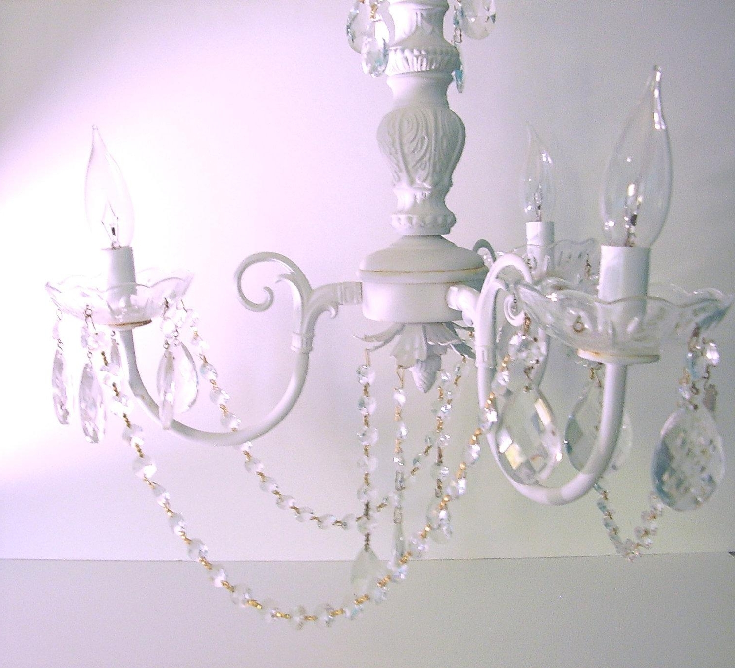 Country Chic Chandelier Pertaining To Recent Chandeliers : Shabby Chic Chandeliers Best Of Shabby Chic (View 10 of 20)