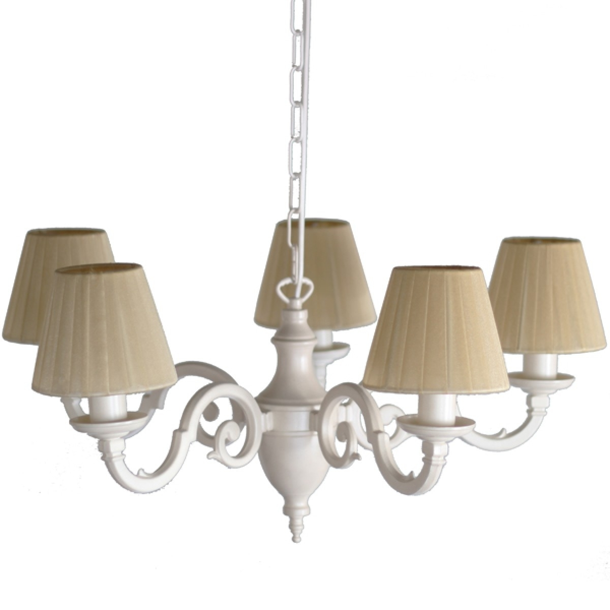 Cream Chandeliers Pertaining To Most Recent Bedroom Light Fitting Chandelier (View 5 of 20)
