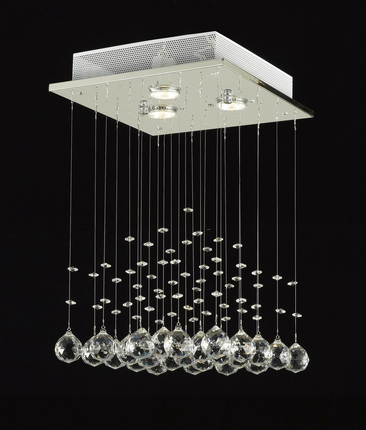 Crystal Ball, Chandeliers And Within Most Popular Modern Light Chandelier (View 9 of 20)
