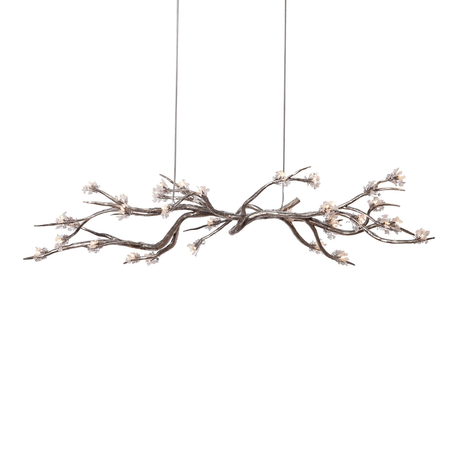 Crystal Branch Chandelier For Most Recent Chandeliers : Branches Chandelier New Branches Chandelier Best (View 4 of 20)