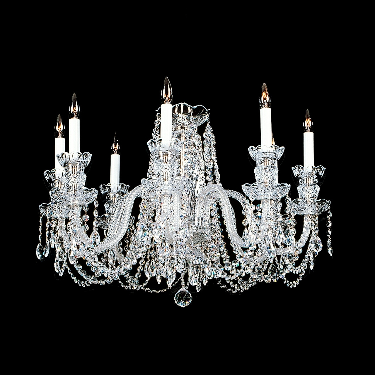 Crystal Chandelier Category : Swarovski Crystal Chandelier Mini With Famous Short Chandeliers (View 10 of 20)