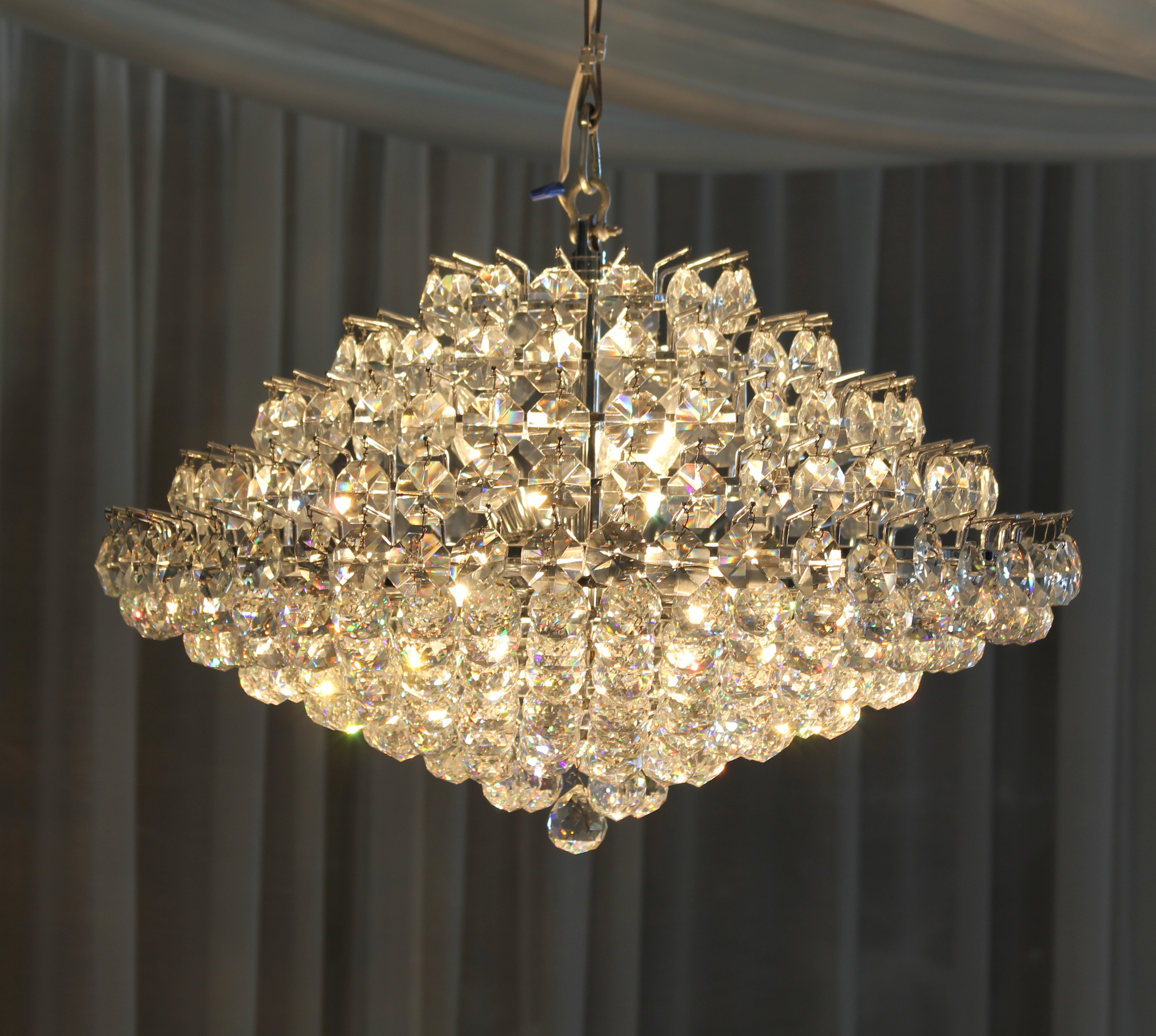 """Crystal Chandeliers For Famous 18"""" Crystal Chandelier (View 15 of 20)"""
