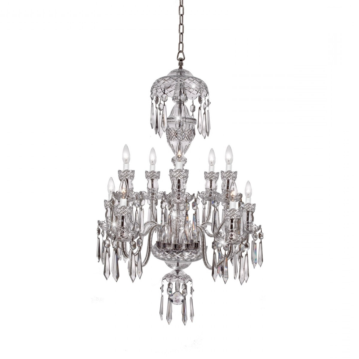 Crystal Chandeliers In Latest Crystal Chandeliers & Lighting – Waterford® Official Us Site (View 8 of 20)
