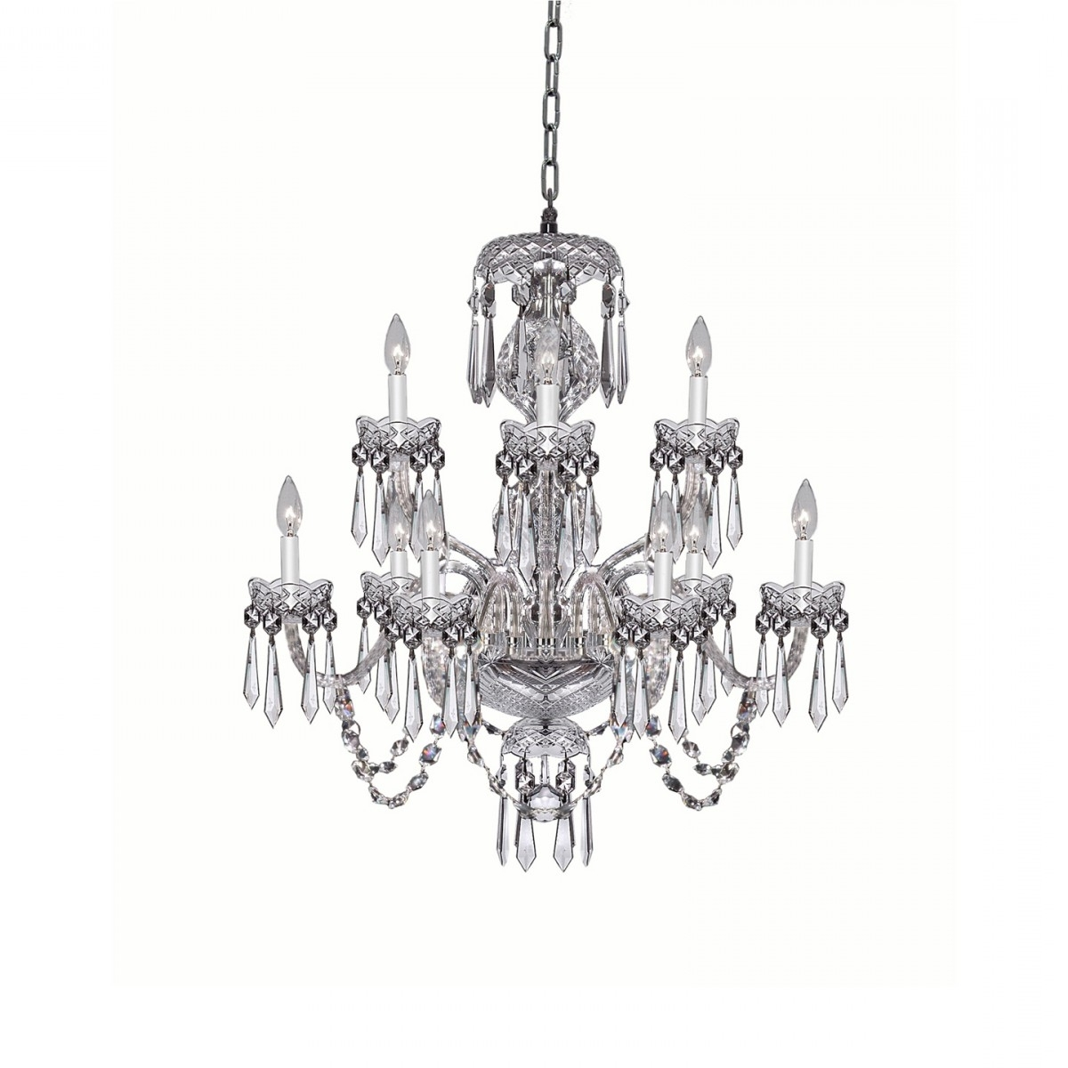 Crystal Chandeliers Regarding Best And Newest Crystal Chandeliers & Lighting – Waterford® Official Us Site (View 9 of 20)