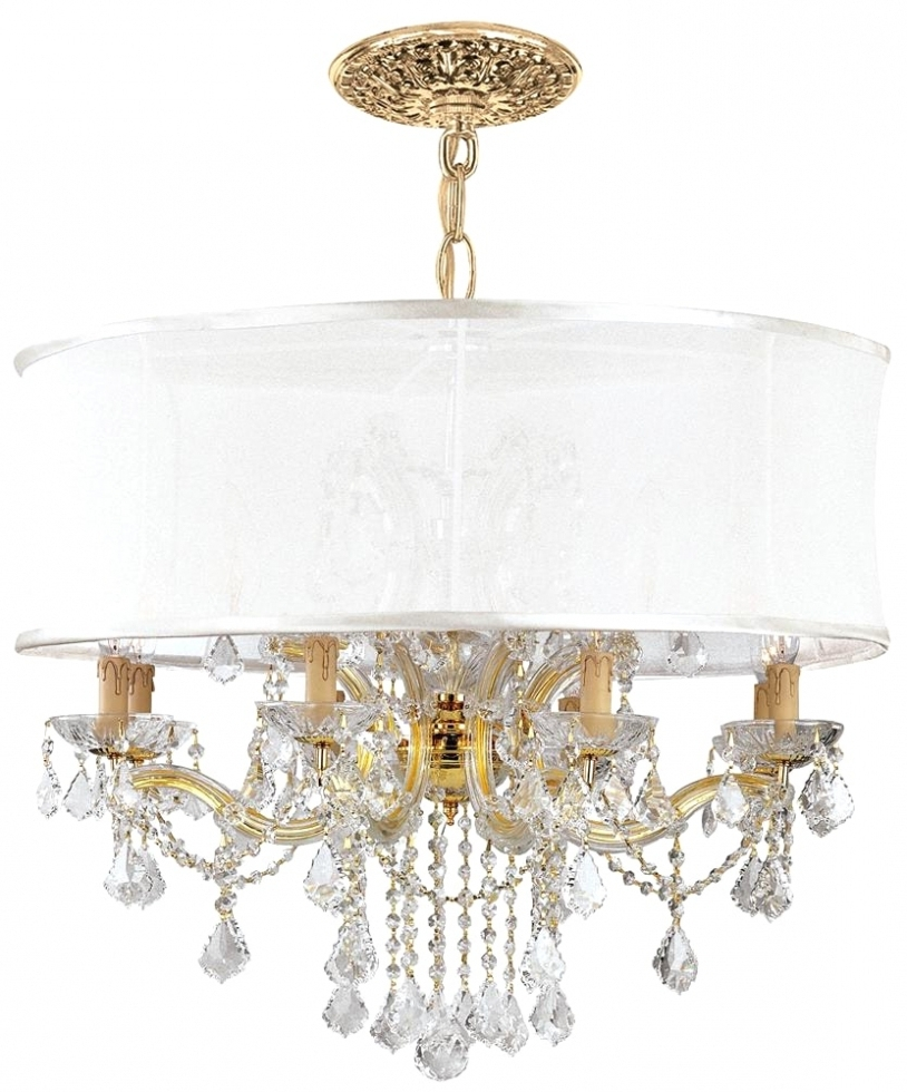 Crystal Gold Chandelier Within Most Current Chandelier ~ Chandeliers Design : Amazing Antique Gold Crystal (View 9 of 20)
