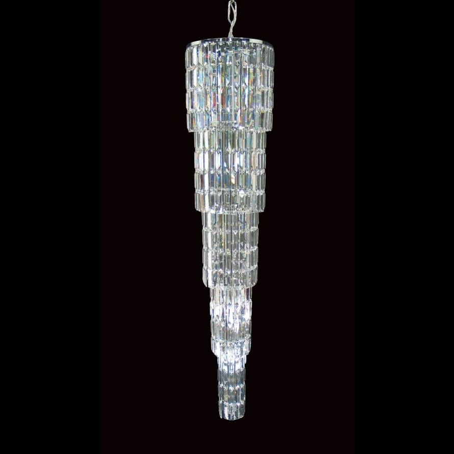 Crystal Icicle Chandelier – Extra Long (View 6 of 20)