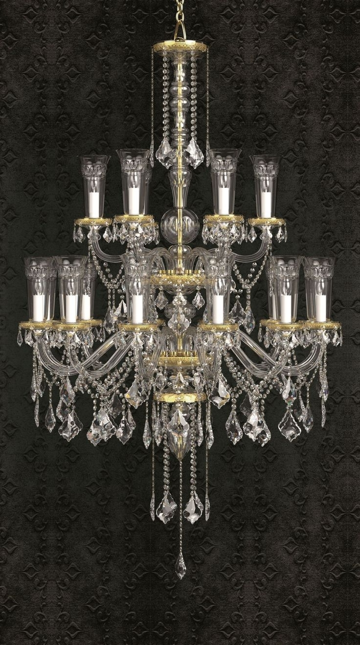 Crystal Throughout Well Known Chandelier Wall Lights (View 9 of 20)