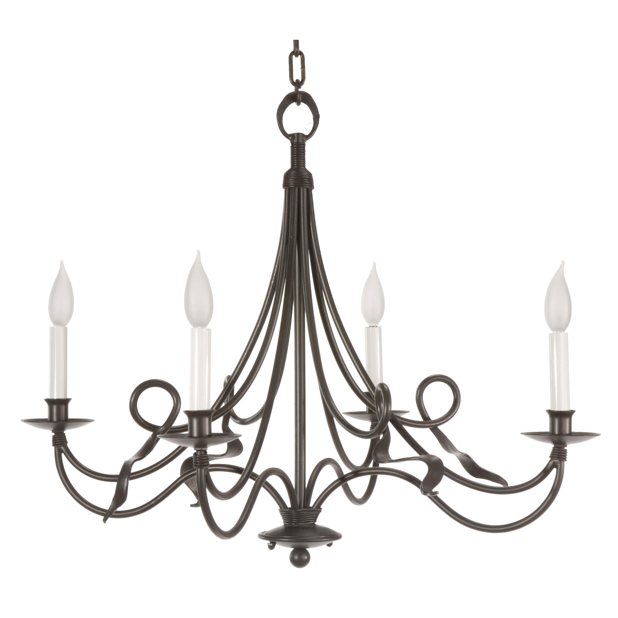 Current Black Color Rustic Cast Iron Chandeliers With Candle Holder For With Regard To Cast Iron Chandelier (View 11 of 20)