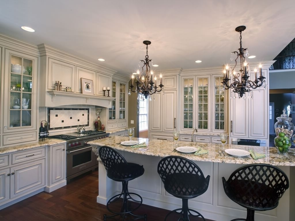 Current Kitchen: Antique Black Kitchen Chandelier Ideas Matching With White Pertaining To Antique Black Chandelier (View 9 of 20)
