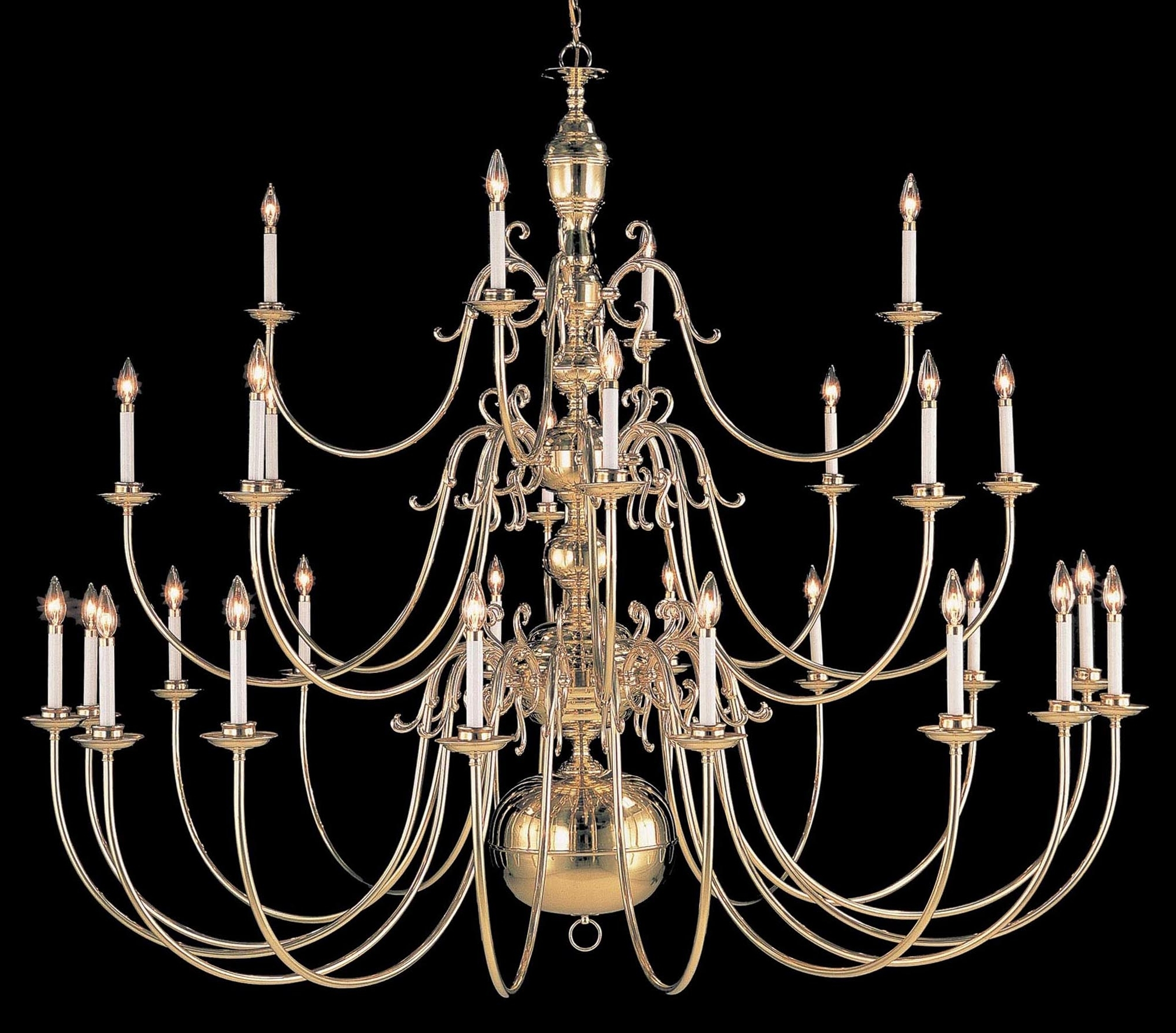 Current Largelighting – Brass/bronze Chandeliers With Large Brass Chandelier (View 3 of 20)