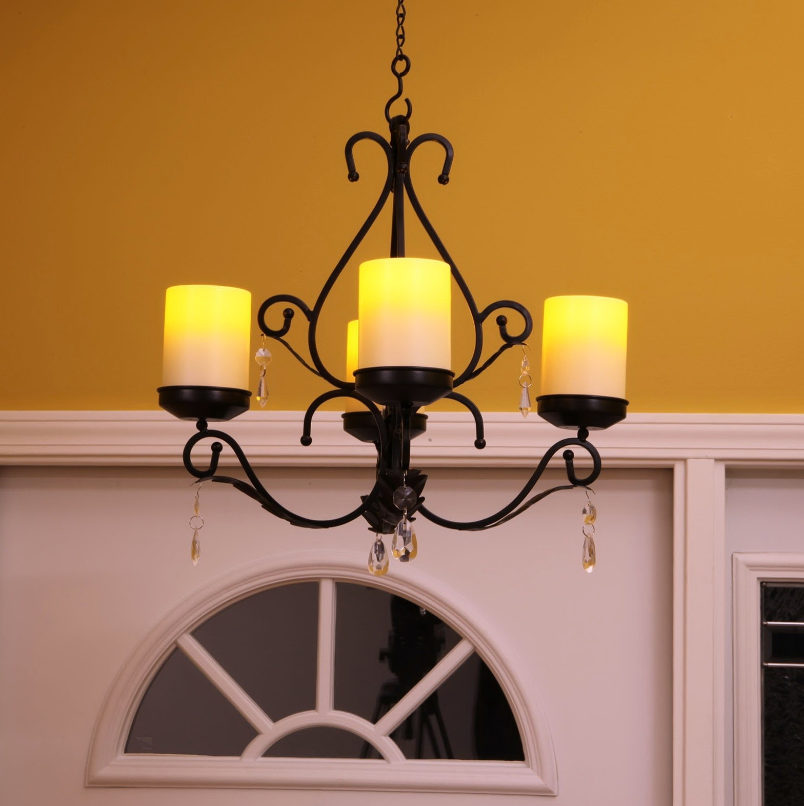 Current Lighting: Non Electric Chandelier For Unique Interior Lights Design With Hanging Candle Chandeliers (View 6 of 20)