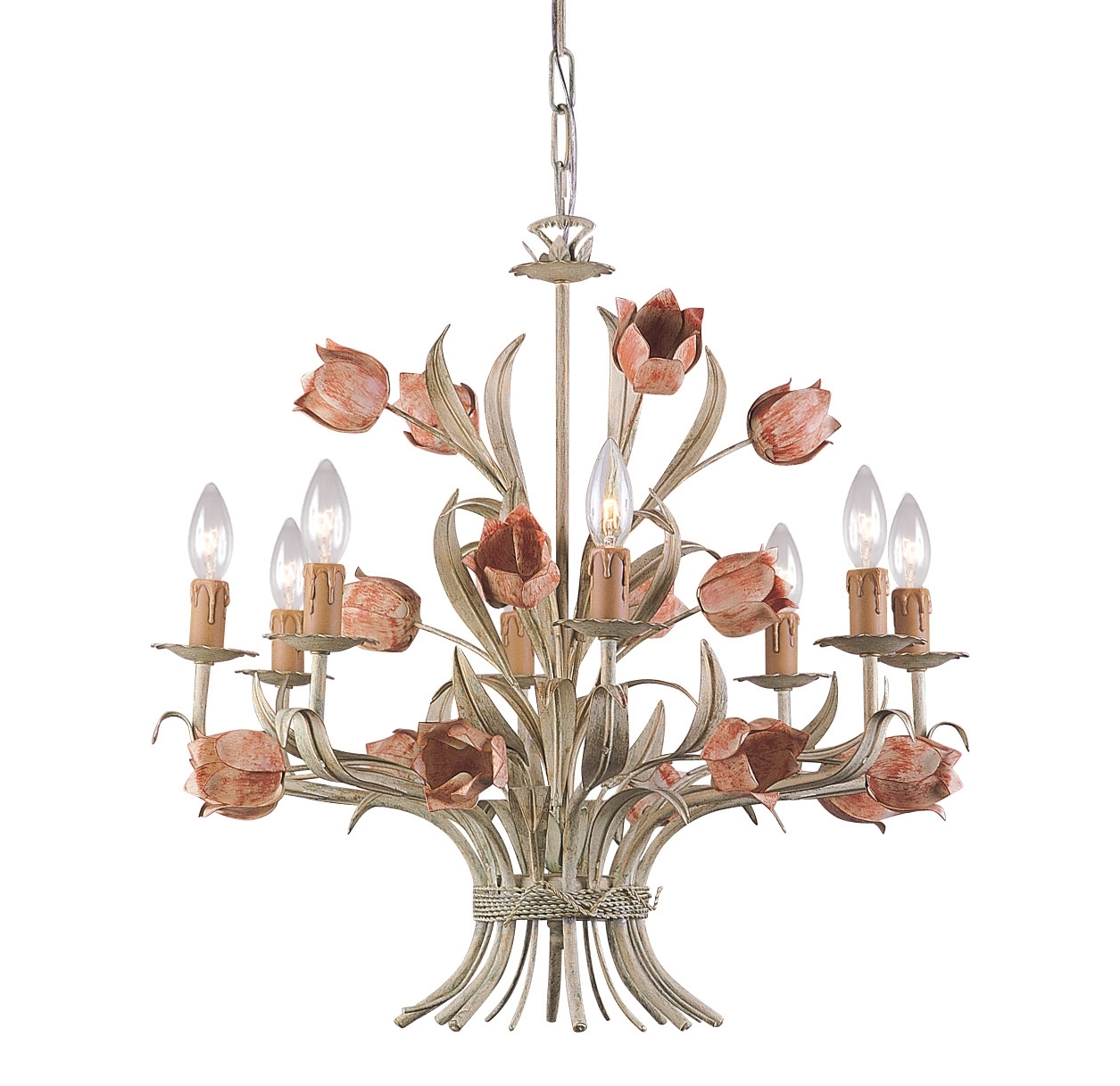 Current Shabby Chic Chandeliers Within Shabby Chic Dining Room Lighting (Reviews/ratings/prices) (View 4 of 20)
