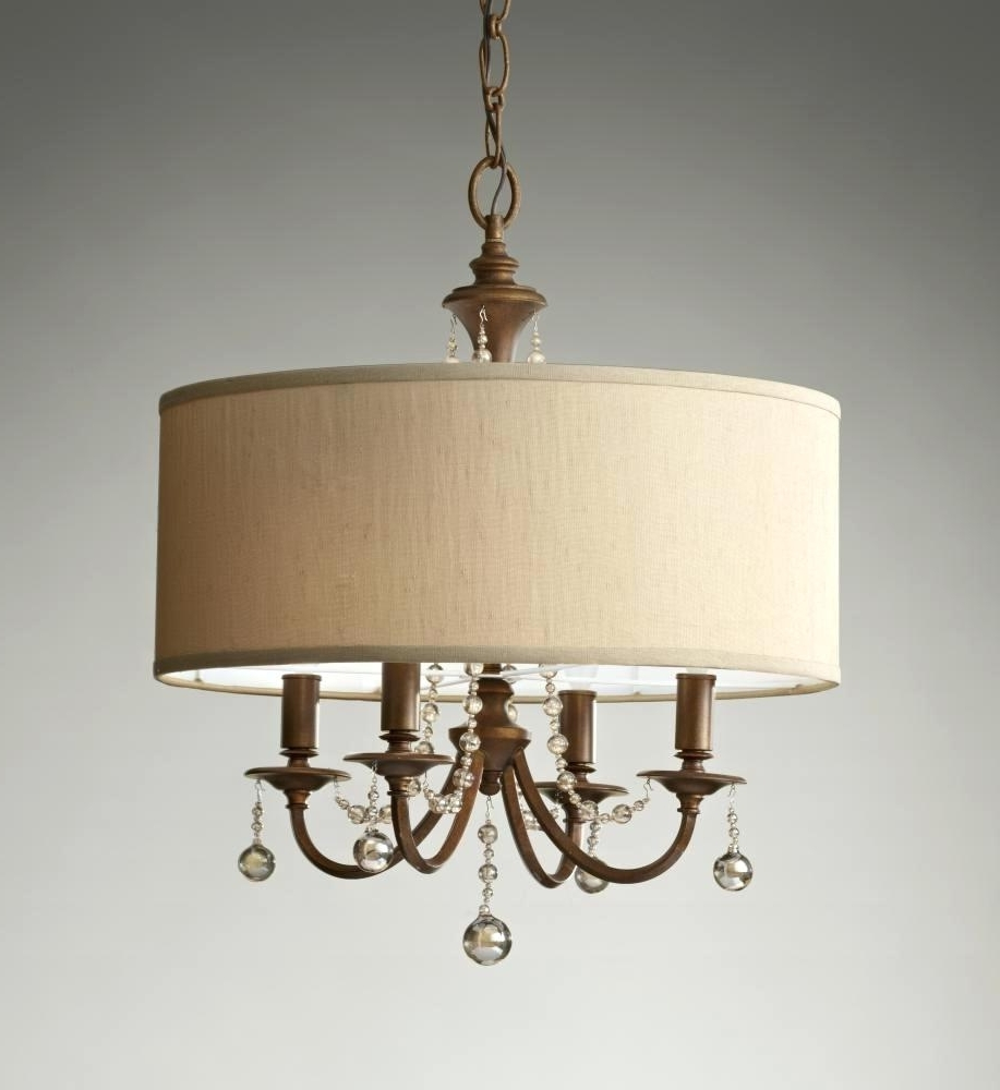 Current Shades Chandeliers – Dutchglow With Regard To Drum Lamp Shades For Chandeliers (View 3 of 20)
