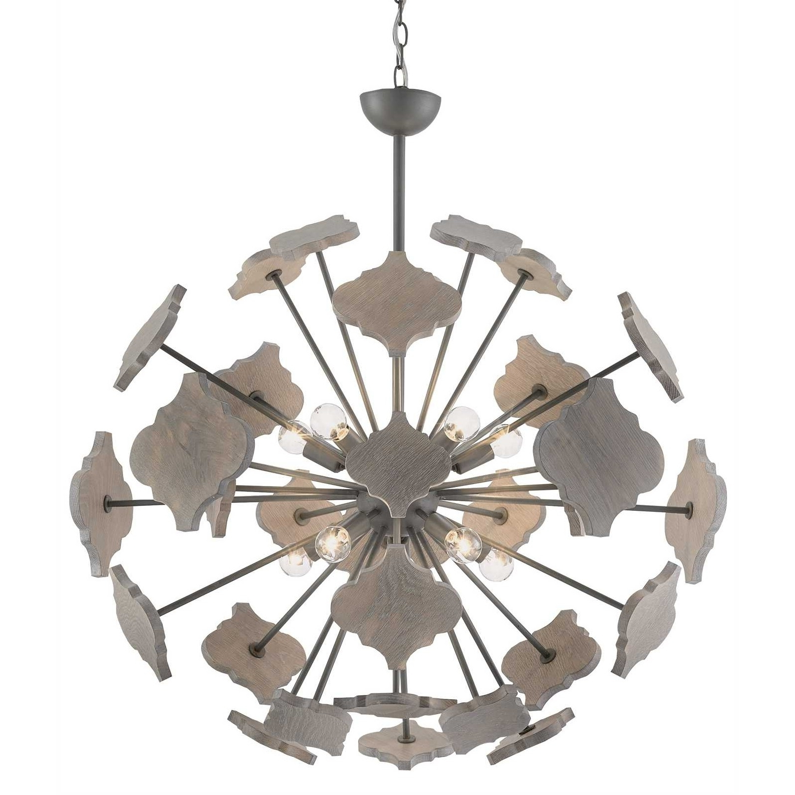 Currey And Company Ogee Orb Chandelier (View 16 of 20)
