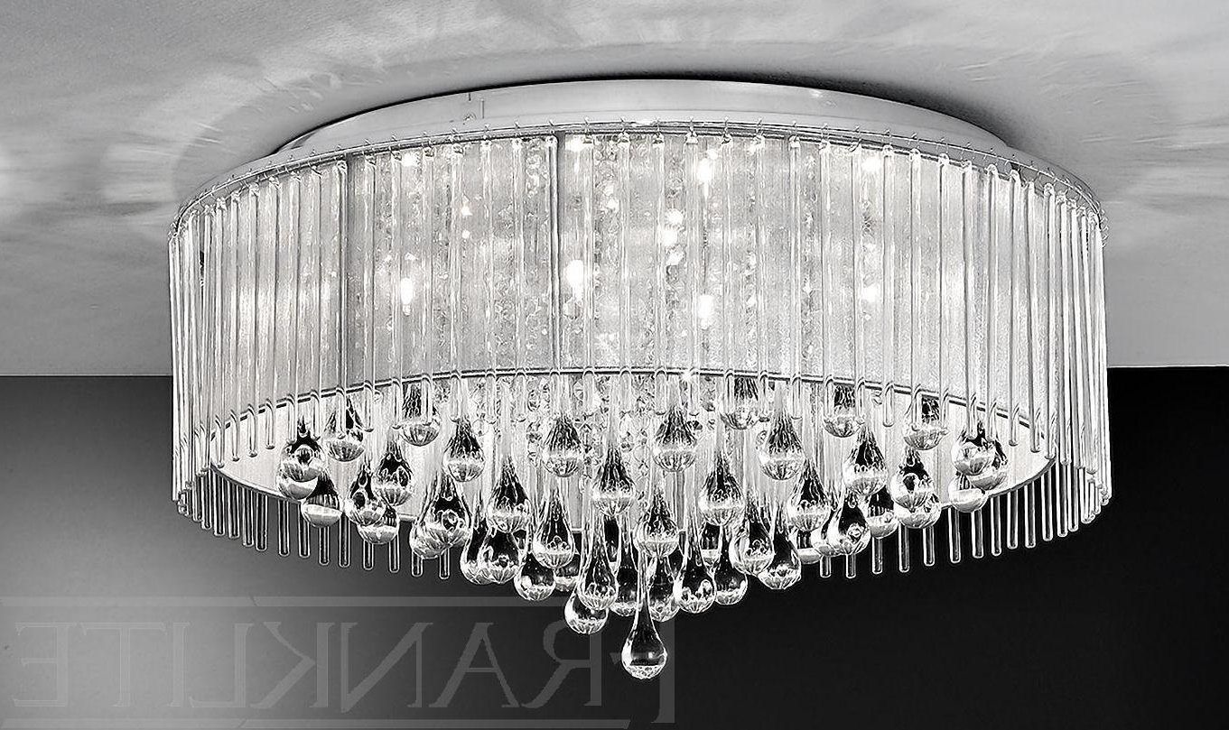 Decoration : Cheap Crystal Chandeliers Living Room Chandelier Flush Within Favorite Massive Chandelier (Gallery 6 of 20)
