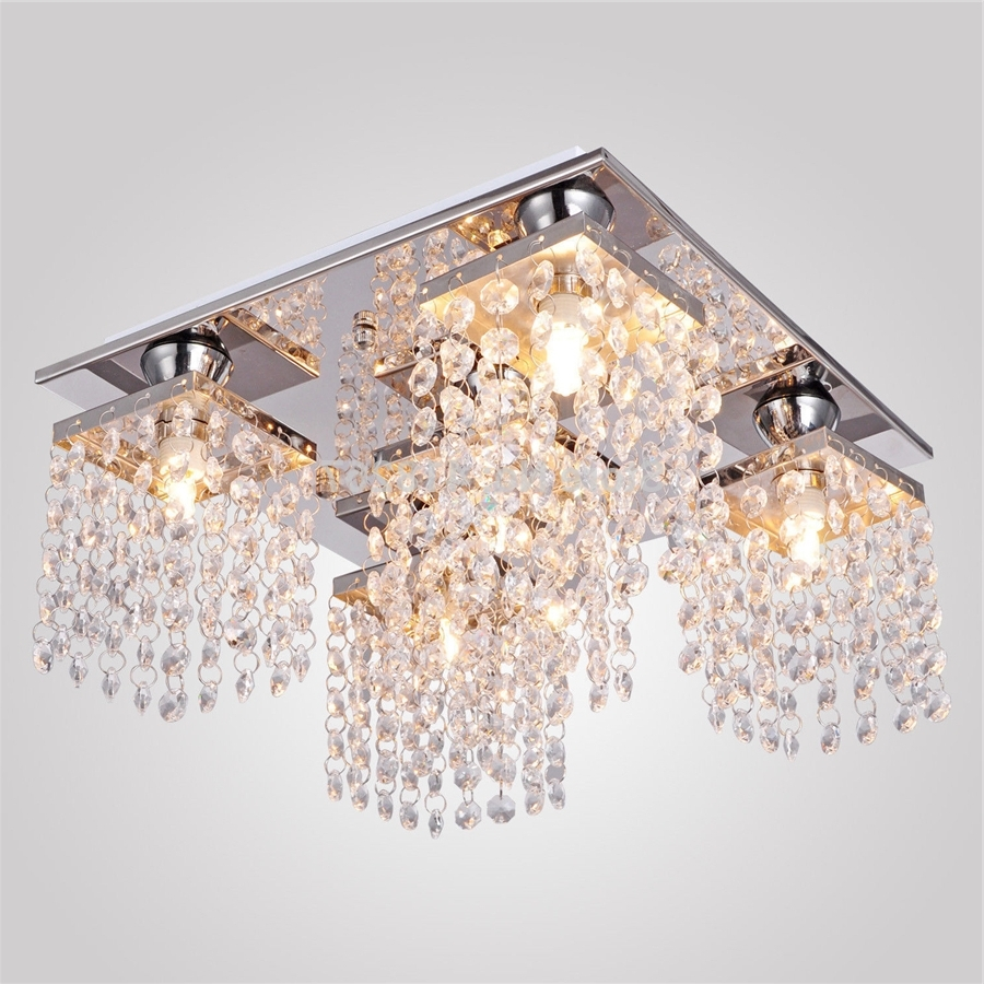 Decoration Ideas Luxury Flush Mount Ceiling Light Designed With Intended For Fashionable Low Ceiling Chandelier (View 5 of 20)