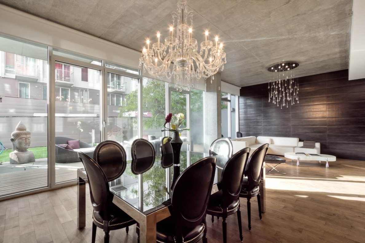 Dining Room Crystal Chandelier Chandeliers Dining Room And Modern Pertaining To Most Recent Cream Crystal Chandelier (Gallery 11 of 20)
