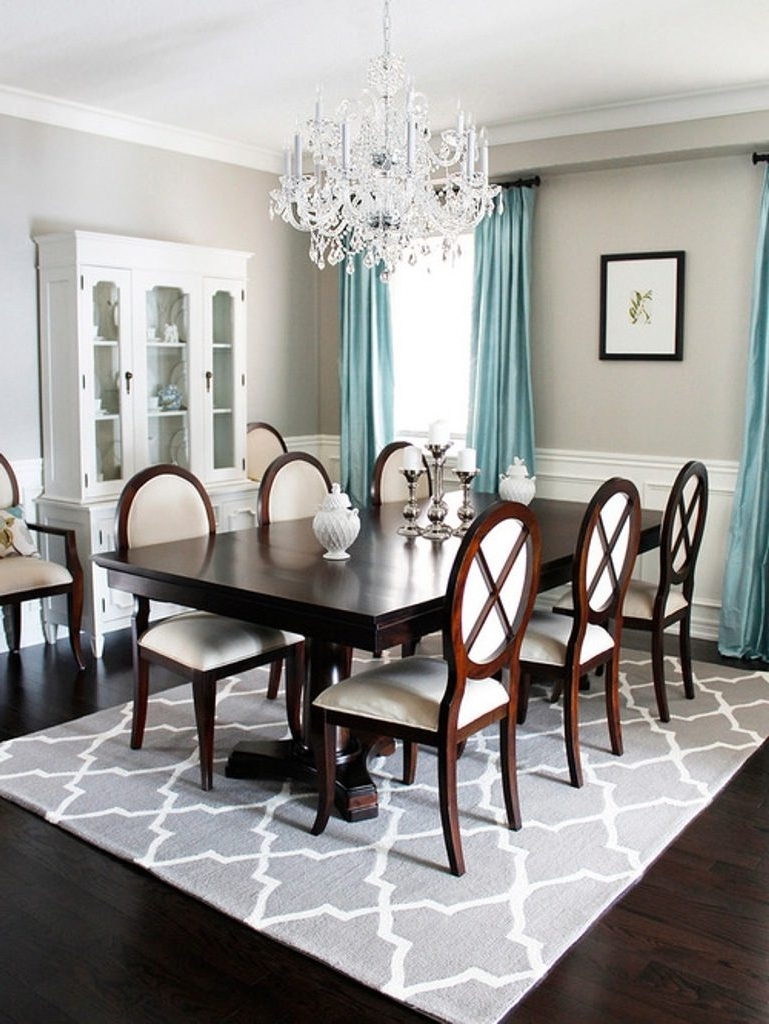 Dining Room Light Fixtures For Low Ceilings • Ceiling Lights Intended For Current Low Ceiling Chandelier (View 6 of 20)