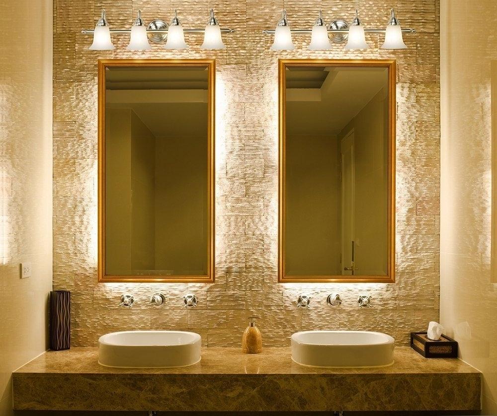 Diy Chandeliers And Light Fixture Ideas – Bathroom Light Fixtures Inside 2018 Chandelier Bathroom Lighting Fixtures (Gallery 17 of 20)