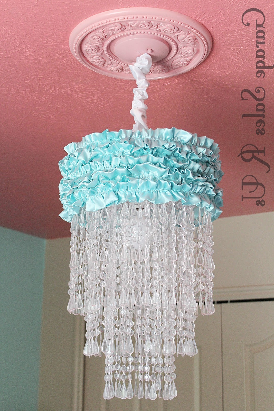 Diy Turquoise Beaded Chandeliers Regarding Latest 25 Diy Chandelier Ideas (View 14 of 20)