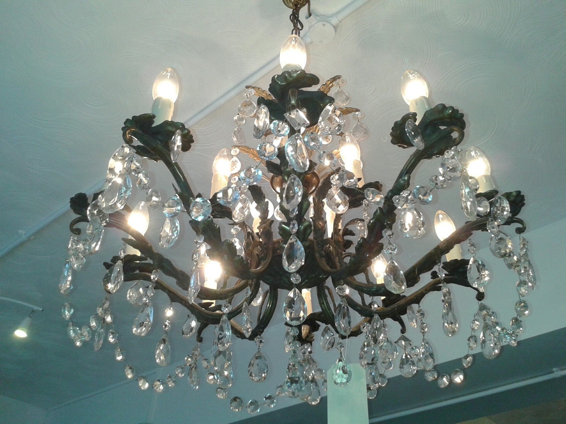 Edwardian Chandeliers For Newest Chandeliers : Awesome 15 Light Chandelier Awesome 15 Edwardian (View 5 of 20)