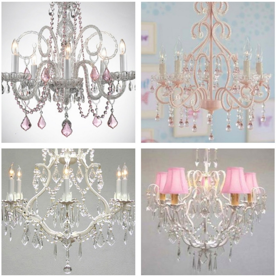 Elegant Chandelier For Girl Rooms Also Kids Teens Baby – Bedroom Throughout Newest Crystal Chandeliers For Baby Girl Room (View 8 of 20)
