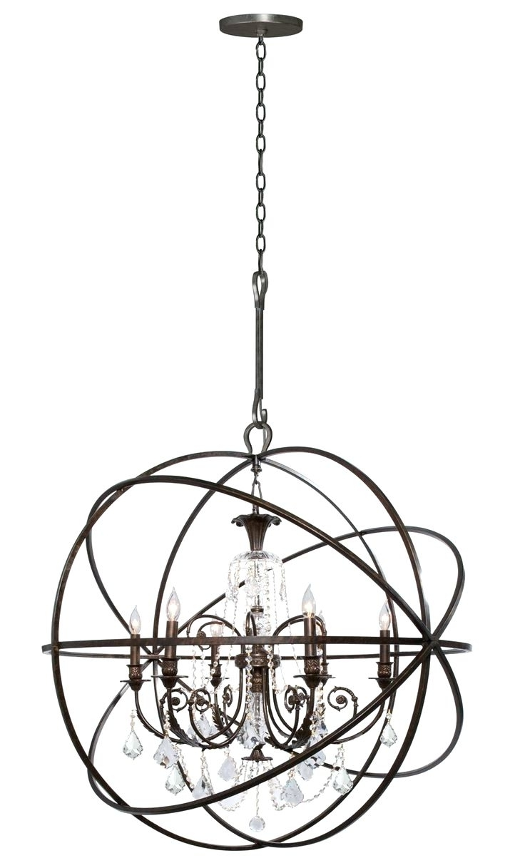 Eloquence Globe Chandelier Within Recent Chandeliers ~ Eloquence Globe Chandelier Shop For The Crystorama (View 8 of 20)