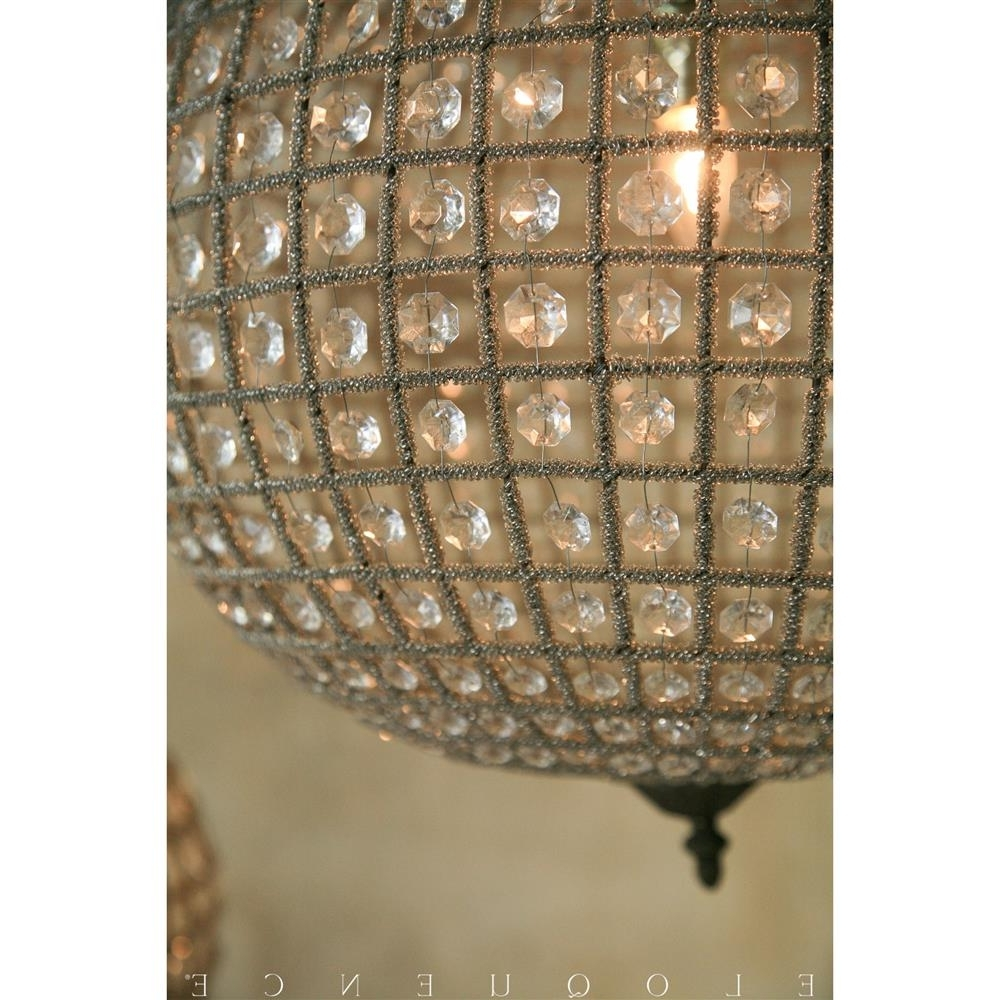 Eloquence Large Globe Chandelier View 10 Of 20