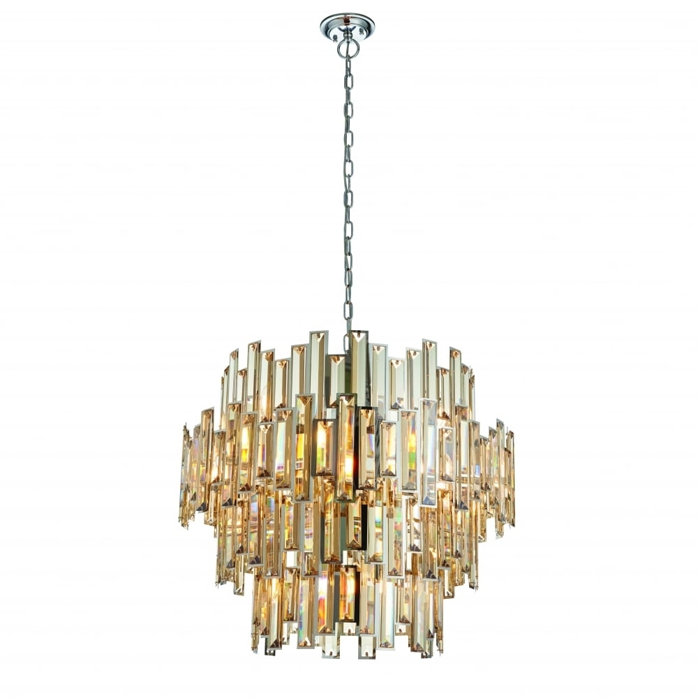 Endon Lighting Endon Lighting Viviana 15 Light Pendant – Chrome For Most Recently Released Endon Lighting Chandeliers (View 9 of 20)