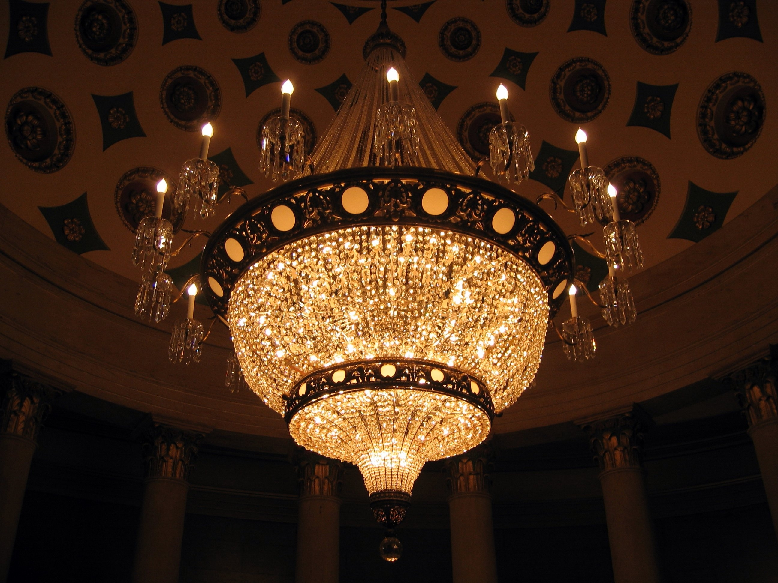 Expensive Chandeliers With Latest Light : Chandelier In Us Capitol Building Largest Top Most Expensive (Gallery 1 of 20)