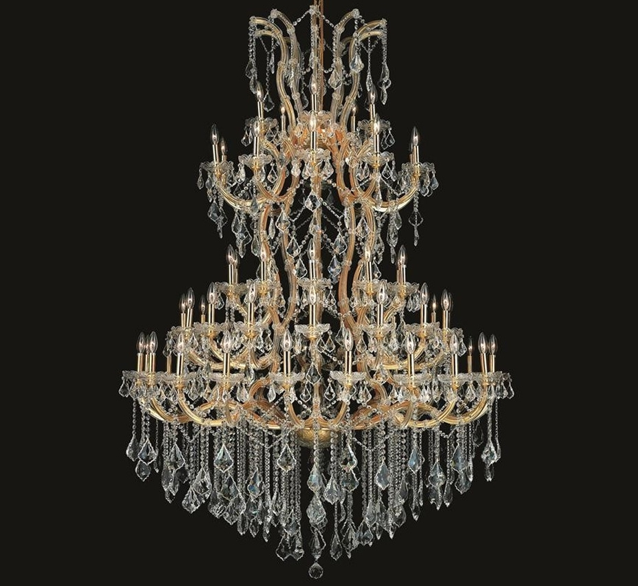 Extra Large Crystal Chandeliers Pertaining To Best And Newest Maria Theresa Collection 85 Light Extra Large Crystal Chandelier (View 5 of 20)