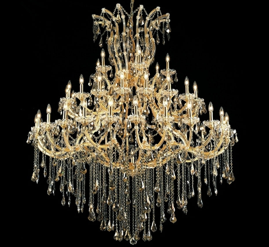 Extra Large Crystal Chandeliers Throughout Fashionable Maria Theresa Collection 49 Light Extra Large Crystal Chandelier (View 6 of 20)