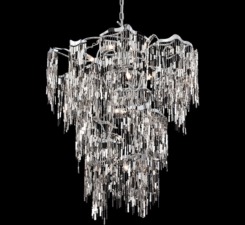 Extra Large Modern Chandeliers With Regard To Preferred Elfassy 19 Light Extra Large Contemporary Chandelier (View 3 of 20)