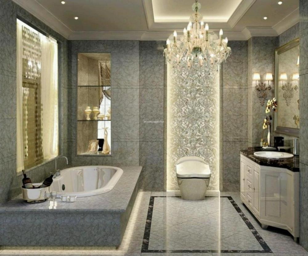 Fabulous Bathroom Chandeliers Crystal Bathroom Glamorous Crystal For Most Popular Crystal Bathroom Chandelier (View 11 of 20)