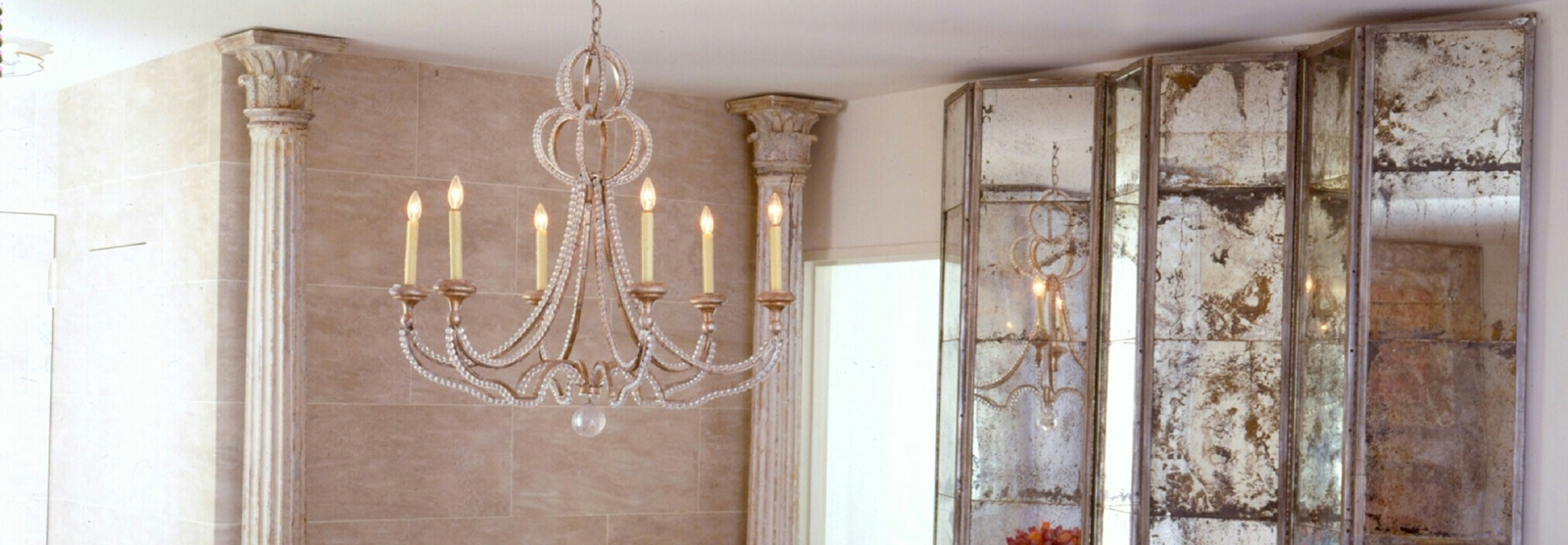 Famous Antique Mirror Chandelier Intended For Niermann Weeks Lighting, Furniture And Accessories (View 6 of 20)