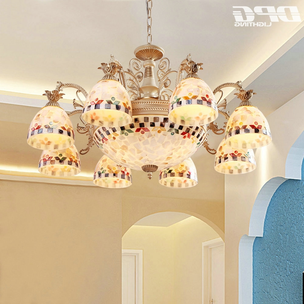 Famous Antique Style Chandeliers Within Gold Chandeliers Tiffany Style Antique Lamp Sconce Tiffany Light (View 4 of 20)