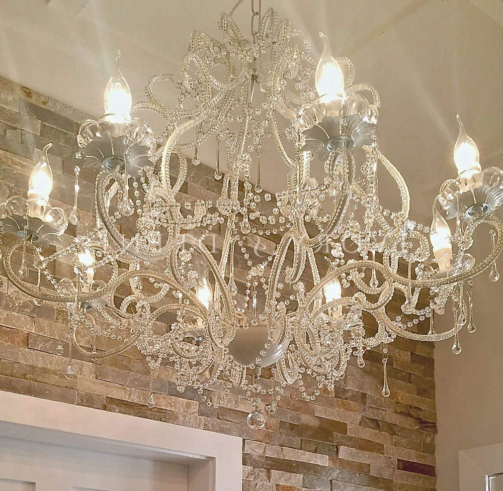 Famous Cream Crystal Chandelier (View 9 of 20)