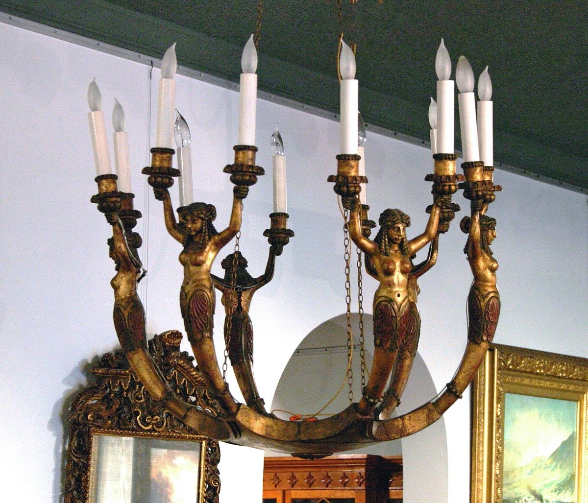 Famous French Bronze Chandelier In Lighting (View 6 of 20)